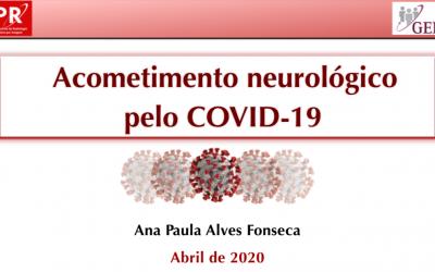 Aula: Acometimento neurológico pelo COVID-19
